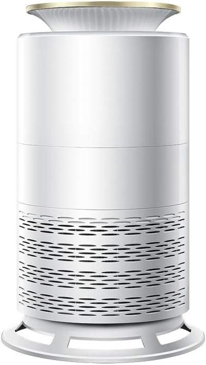 Zmsdt Dormitorio del hogar, además de formaldehído smog de segunda mano de humo purificador de aire, Negativo cuerpo cilíndrico modo de iones de bajo ruido de múltiples funciones del purificador de ai
