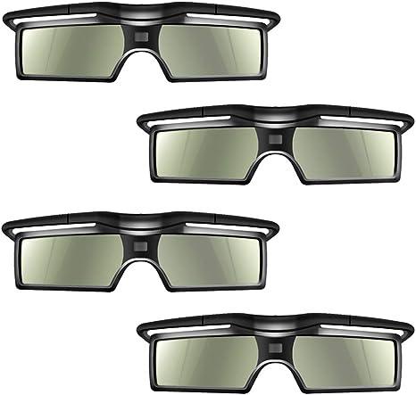 SHARP DLP Link 3D Proiettore Andoer/® G15-DLP Occhiali attivi 3D Shutter otturatore glasses 96-144Hz per 3D LG BENQ ACER