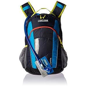 CamelBak Scout Kids Crux Reservoir Hydration Pack, Navy Blazer/ Atomic Blue, 1.5 L/50 oz