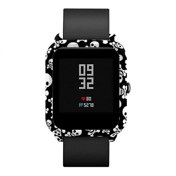Bestow Xiaomi Huami Amazfit Bip Reloj para jš®venes patrš®n Funda de Piel para PC Proteger Shell Ediciš®n Juvenil Reloj Concha Protectora: Amazon.es: Ropa y ...
