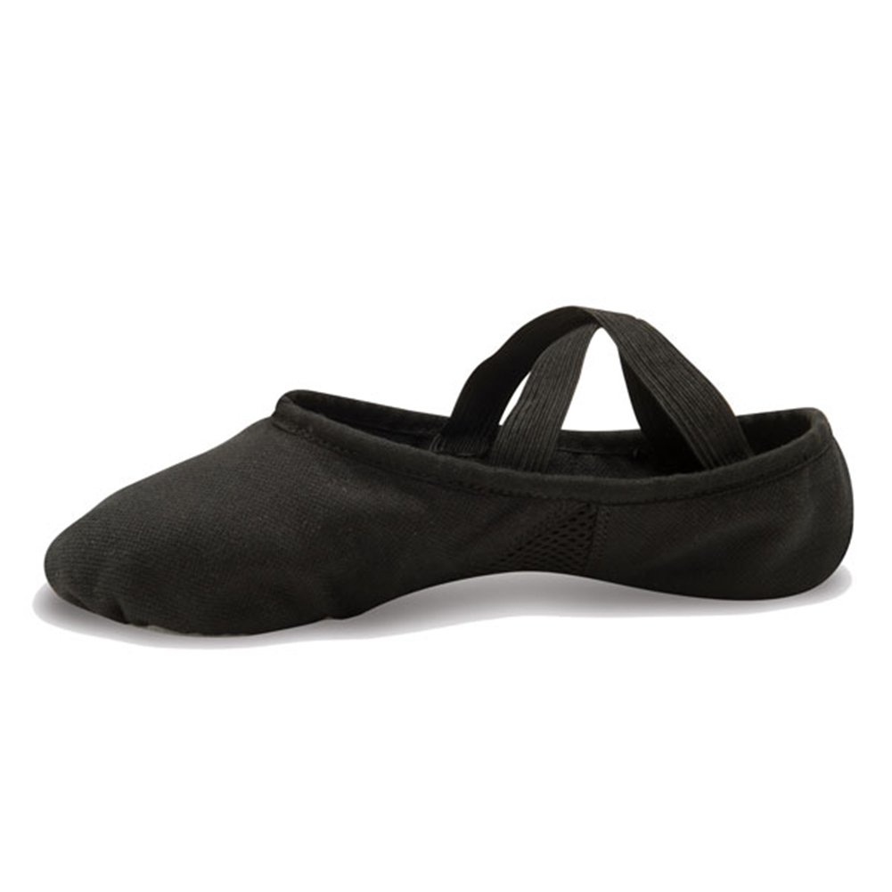 Danshuz Girls Canvas Stretch Ballet Flats Canvas