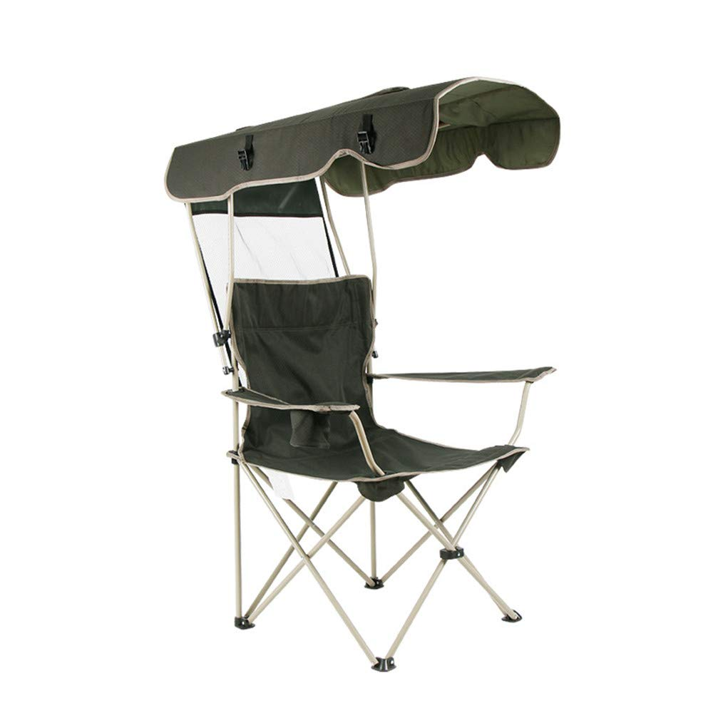 Gimitunus Portable Shade Canopy Stuhl Klapp Camping Angeln Gartenstuhl