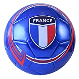 Machine Stitch Soccer Ball with Country Name Design C Size: 5