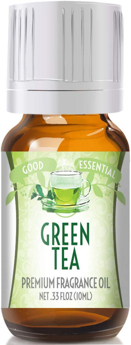 Green Tea Scented Oil by Good Essential (Premium Grade Fragrance Oil) - Perfect for Aromatherapy, Soaps, Candles, Slime, Lotions, and More!
