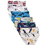benetia Boys Briefs Underwear Toddler Dinosaur Cars Cotton 6 -Pack Size 2t 3t