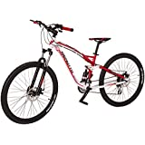 Bicicleta Benotto DS-800 Aluminio R27.5 24V Shimano Altus Frenos DDM