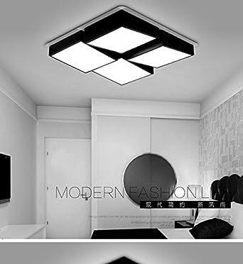 Tianliang04 plafonniers applique lampe de plafond led rectangulaire salle de séjour chambre à coucher