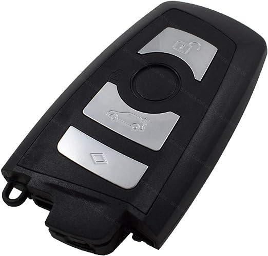 Konikon Auto Schlüsselgehäuse Smartkey Ersatz 4 Tasten Elektronik