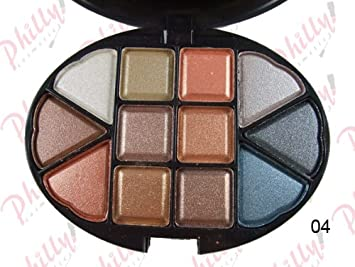 Amazon.com : MAC Makeup Kit Eyeshadow Blusher Lip Gloss and Powder Custom Palette #4 Net Wt 1.13 Oz : Makeup Sets : Beauty