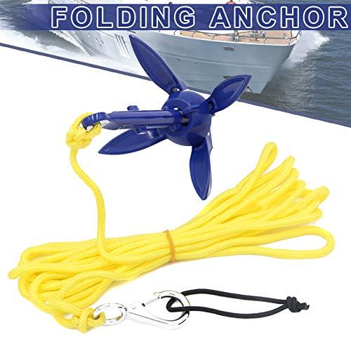 Tenflyer Folding Anchor Fishing Accessories for Kayak Canoe Boat Marine Sailboat Watercraft