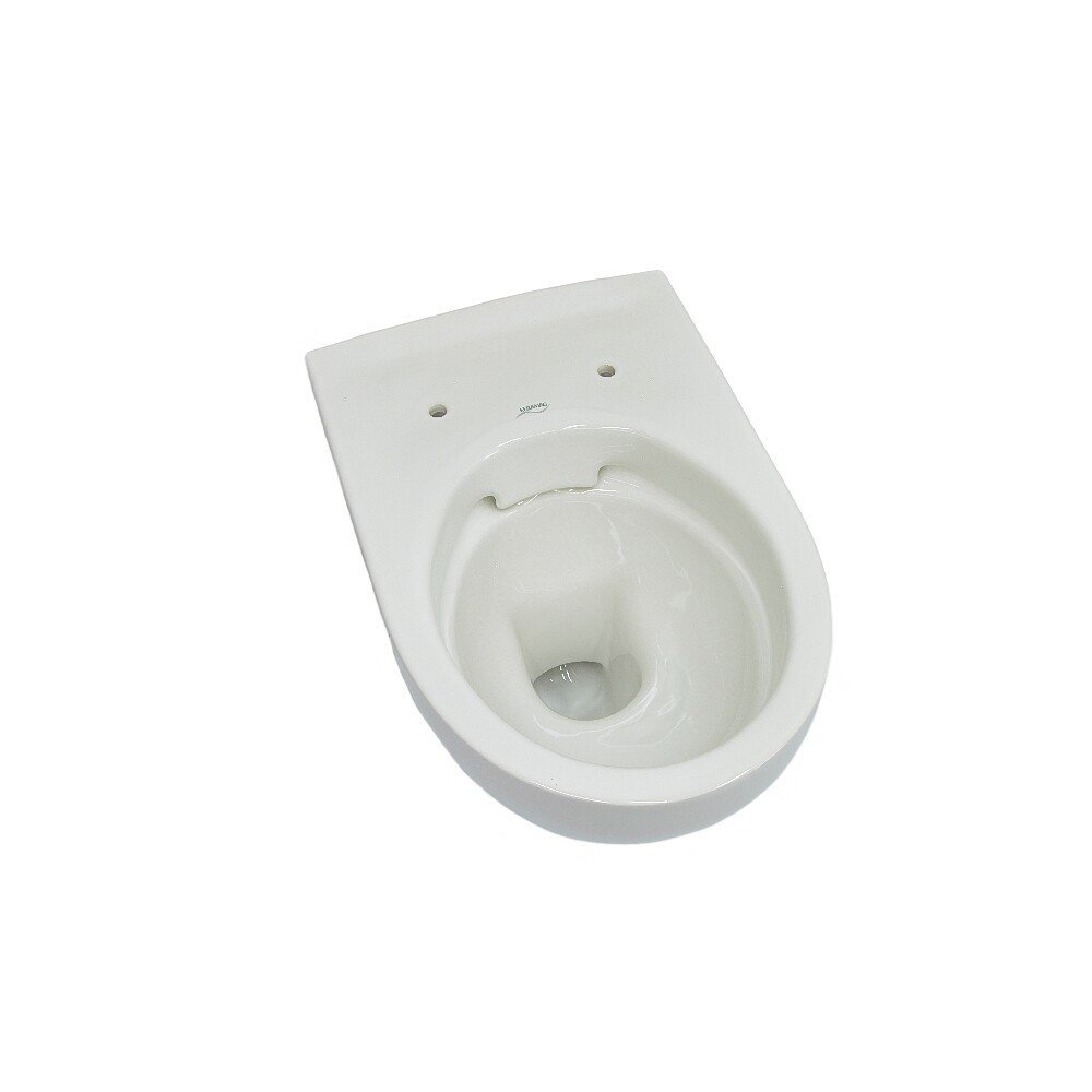 KeraTect wei/ß alpin Keramag Tiefsp/ül WC Renova Nr 1 Plan wandh/ängend 202150600