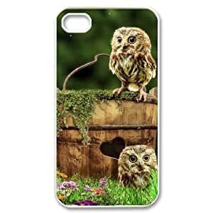 Owl Original New Print DIY Phone Case for Iphone 4,4S,personalized case cover ygtg527504