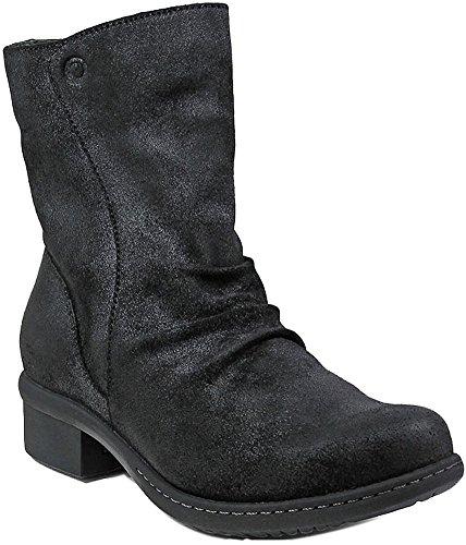 Bogs Womens Auburn Mid Rain Boot Black Size 6.5