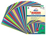 Fadeless  Paper Assortment, 25 Assorted Colors,  12'' x 18'', 100 Sheets