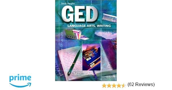 Amazon.com: Steck-Vaughn GED: Student Edition Language Arts ...