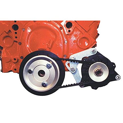 Powermaster 8-881 Alternator Kit Pro Series Snug Mount [SBC] w/8072 100A Alt