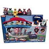 Paw Patrol Lookout Playset with Complete Rescue Racer Figures by Nickelodeon