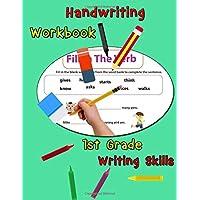 Handwriting Workbook - 1st Grade Writing Skills: Handwriting Practice Book for Kids to Master Letters, Words & Sentences