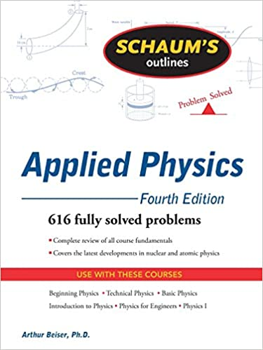 applied physics by arthur beiser alll chapter solutions manual