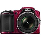 Nikon COOLPIX L830 Digital Camera (Red)