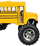 Toysmith 5020 Monster Bus, 5-Inch