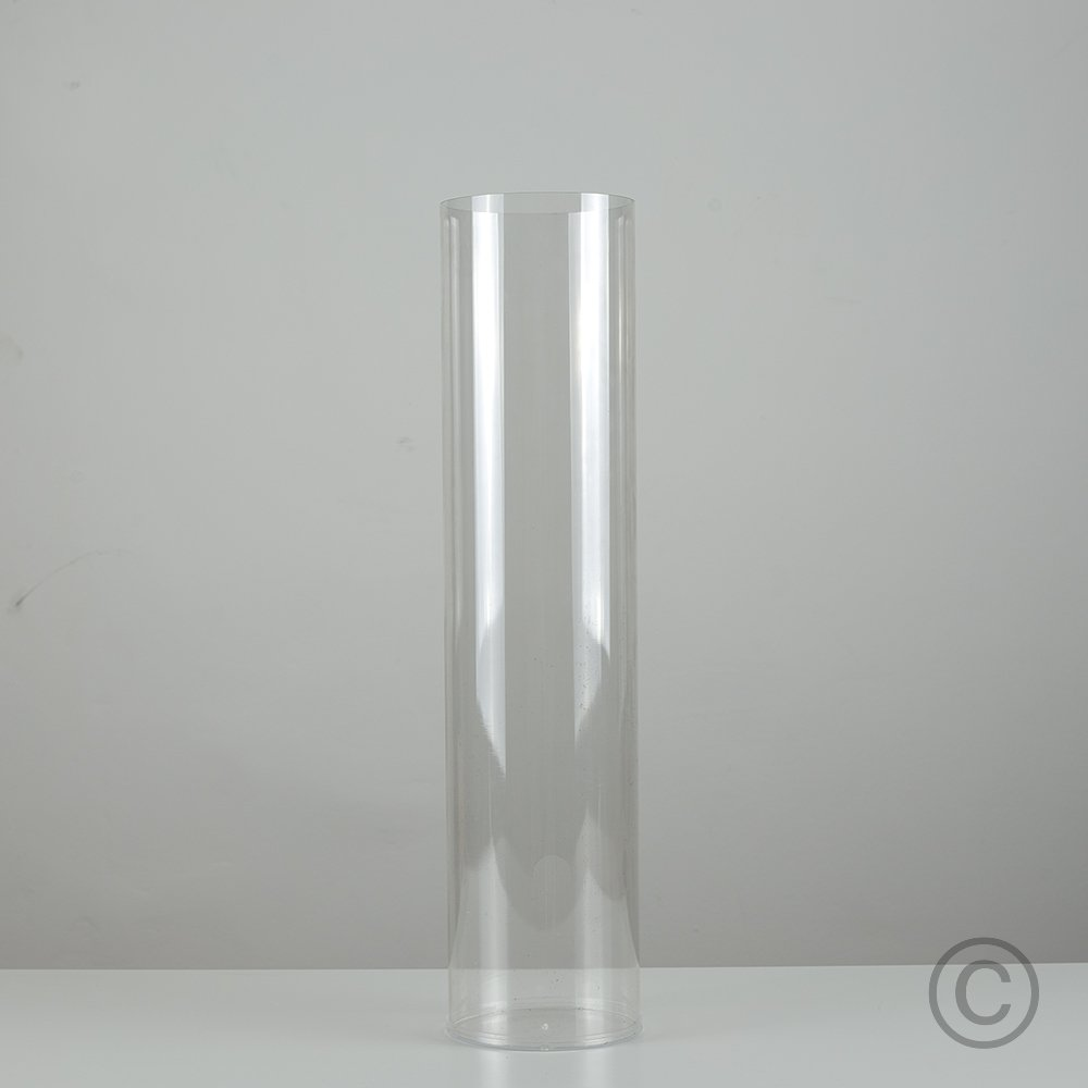 Clear acrylic standing cylinder design tube vase for artificial clear acrylic standing cylinder design tube vase for artificial flowers twig branch lights amazon lighting reviewsmspy