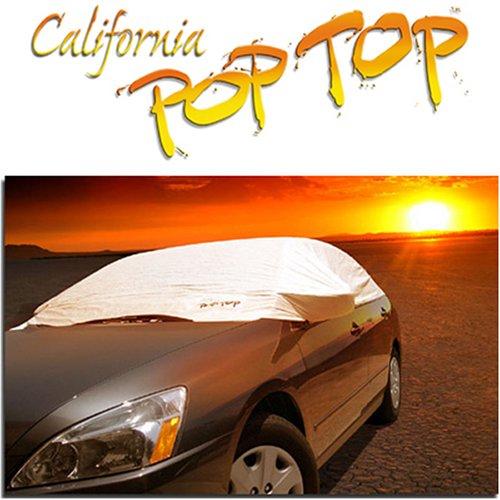 sema NEW PRODUCT AWARD WINNER - Size (L) LARGE DuPont Tyvek PopTop Sun Shade, Interior, Cockpit, Car - Size Cockpit