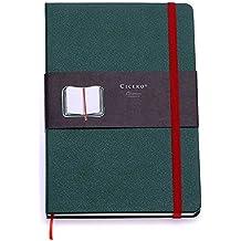 Sketchbook Linha Clássica Verde/Vermelha 80 g/m² 9,0 x 13,0 cm com 160 Páginas Cicero