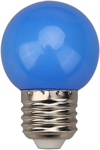 Ampoules DEL goutte Ampoule Couleur Deco 1 W Lampe Vert Fête Guirlande