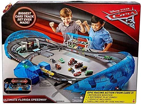 - DisneyPixar Cars 3 Ultimate Florida Speedway Track Set
