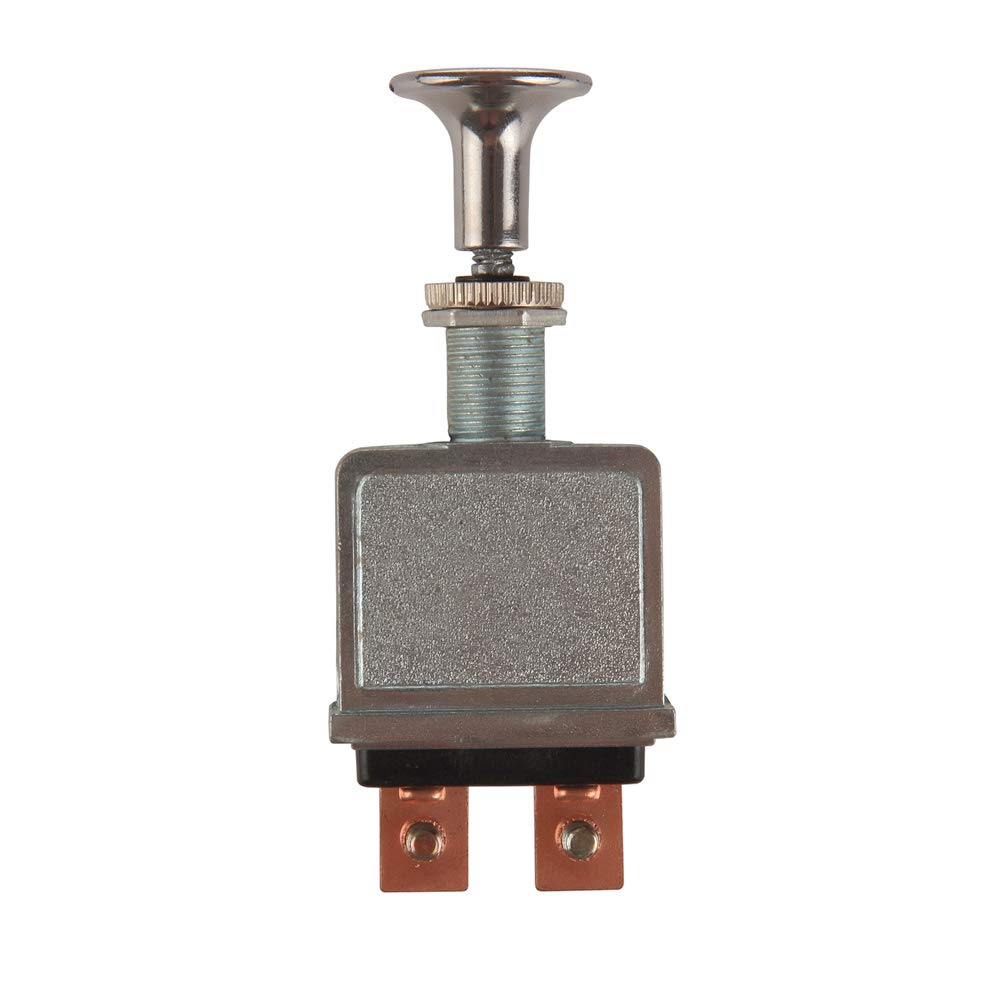 Larbi Auto Toggle Switch Heavy Duty Push-Pull-On-Off Switch with 2 Position 4 Connection Terminals Rated to 75 Amps at 6-28 Volts DC fit for Headlights,Control Headlight,Turn Signal Light Accessories