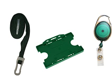 ID Card It verde oscuro doble ID tarjeta identificativa ...
