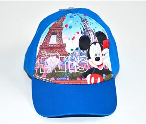 Disneyland Paris Mickey Mouse - Gorra para niños, Color Azul ...