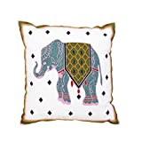 "Drasawee Embroidery Home Decor Cushion Cover Throw Pillowcases 18"" 5#"