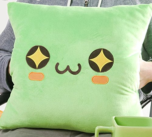 Cute Maplestory Limited Edition Green Slime Pillow