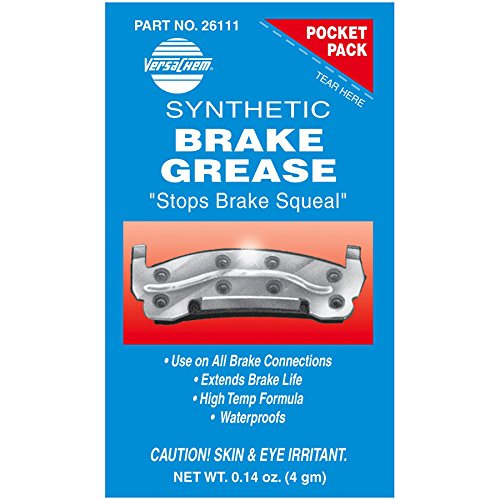 Versachem 26111-240PK Synthetic Brake Grease - 4 Grams Pocket Pack, (Pack of 240) by Versachem