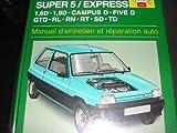 Renault Super 5 & Express Diesel (85 - 99)