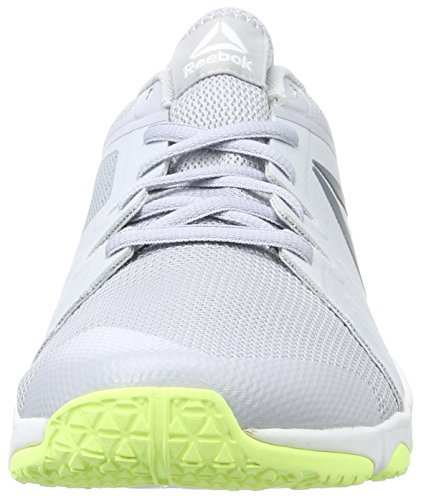 cloud electric Trainflex Flash Femme white asteroid Sneakers Gris Reebok Dust Basses Grey AXqCUqWw