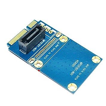 50 mm Mini PCI Express PCIe PCI-E mSATA SSD a SATA 7pin HDD Disco ...
