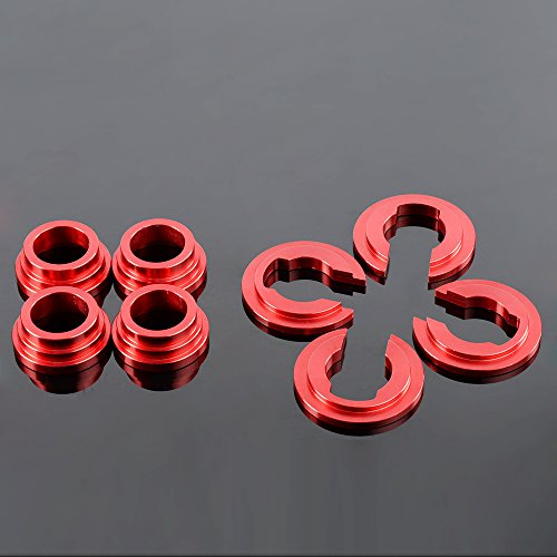 Aluminum Subframe Tie Bar Bushing Collar Spacer Kit For 240sx S13 ()