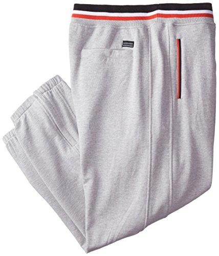 Sean John Men's Big-Tall SJ Tape Track Pant, Grey Mix Heather, 4X/Big