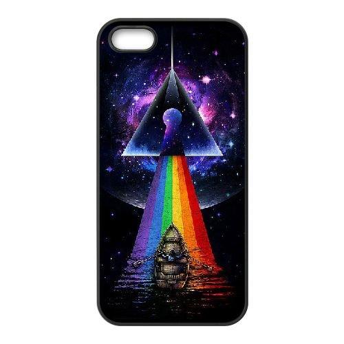 Pink Floyd 006 coque iPhone 5 5S Housse téléphone Noir de couverture de cas coque EEEXLKNBC18306