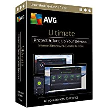 Avg Box ULT17T12EN AVG Ultimate Unlimited - One Year License