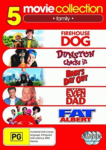 Firehouse Dog / Dunston Checks In / Baby's Day Out / Fat Albert | 5 Discs | NON-USA Format | PAL | Region 4 Import - Australia