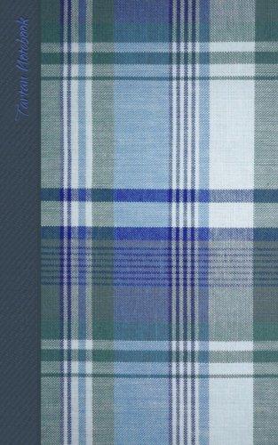 Tartan Notebook: Gifts / Gift / Presents ( Scottish Muted Blue Tartan / Plaid Notebook ) (Travel & World Cultures)