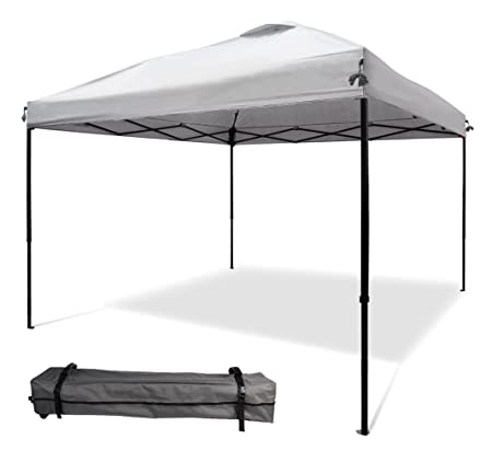 XGEAR 10 x10 Pop UP Canopy Tent Instant Shelter Straight Wall with Wheeled Carry Bag