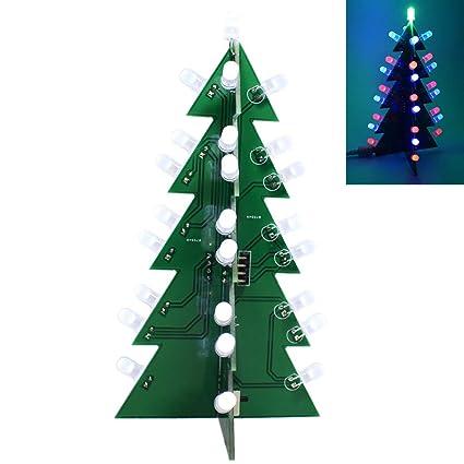 Stella Per Albero Di Natale Fai Da Te.Bilinli Kit Di Apprendimento Elettronico Per Albero Di Natale Con