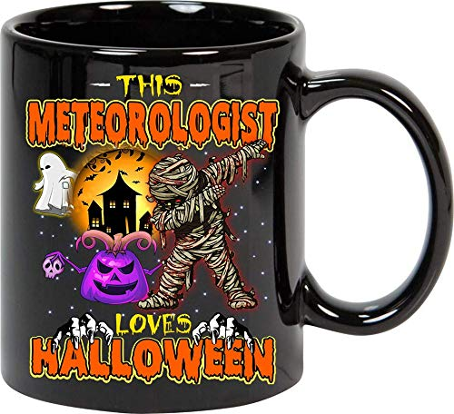 This METEOROLOGIST Loves Halloween Mug