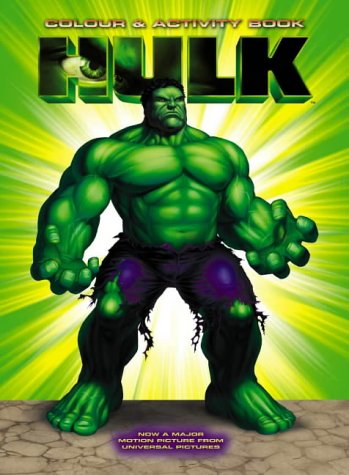 Read Online The Hulk: Colouring and Activity Book (Hulk) pdf