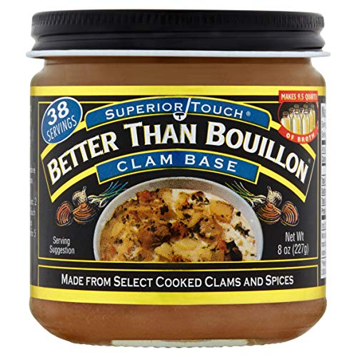 (Better than Bouillon Clam Base 8)